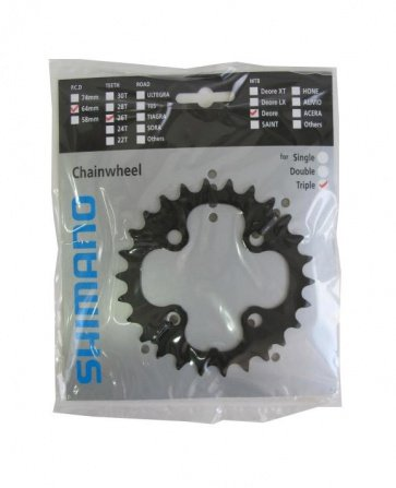 Shimano Deore FC-M590 26T chainring Y1LD26000