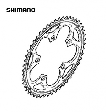 Shimano FC-5750 50T Compact Chainring Black Y1M598020
