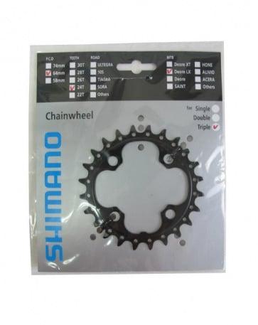 Shimano FC-M660 Chainring 10SP 24T AE Y1LU24000