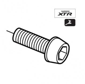 Shimano FC-M970 left crankarm clamp bolt Y5A408070
