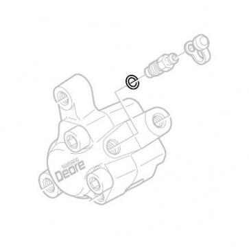 Shimano Hydraulic BR-M555 Bleed Nipple Oring Y8B511001