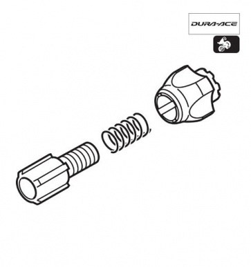 Shimano RD-7800 Cable Adjuster Bolt Unit Y5V598030