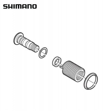 Shimano RD-7900 Plate Axle Assembly Y5X098050