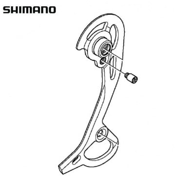 Shimano RD-M972 Right Plate Assembly GS Y5WJ98050