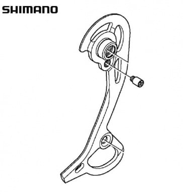 Shimano RD-M972 Right Plate Assembly SGS Y5WJ98060