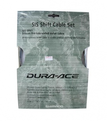 Shimano Road Bike Shifter Cable Set Dura-Ace Y60098080