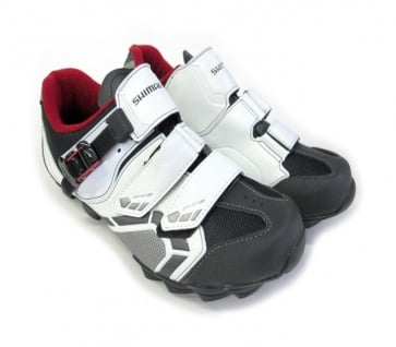 Shimano SH-M088WE WideFit MTB Cycling Shoes White