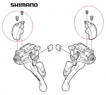 Shimano ST-9000 Name Plate Right Y63X98020