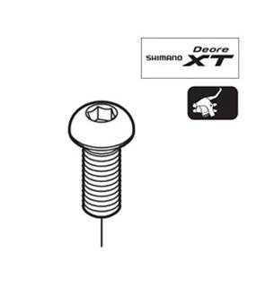Shimano ST-M770 Clamp Bolt M6x14.8 repair part