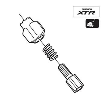 Shimano ST-M975 Shifter Cable Adjusting Bolt Y6LK98020