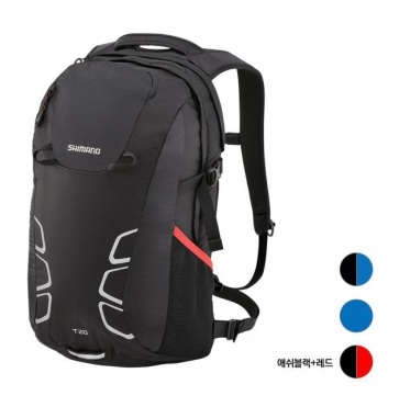 Shimano Tsukinist Commuter Backpack Cycling 20L Ash Black Red