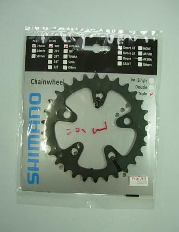 Shimano Ultegra FC-6604G 30T 74mm Y1JP30000