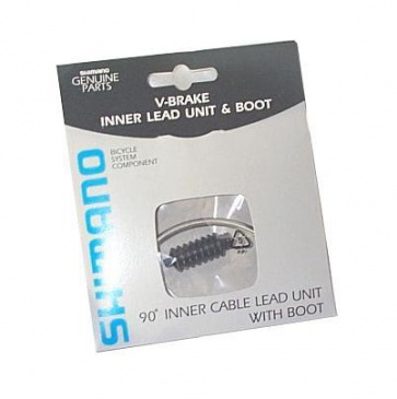 Shimano V-Brake 90 Degree Inner Cable Lead Unit with Boot