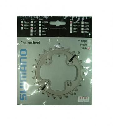 Shimano XT chainring FC-M771K 26T y1j226000