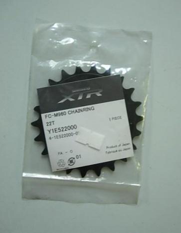 Shimano XTR Chainring FC-M960 22T Y1E522000