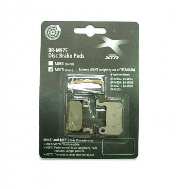 shimano xtr m07ti Disc Brake Pads Regin