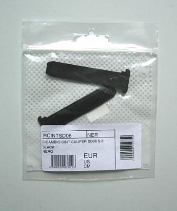 Sidi Buckle Strap black Ricambio CINT Caliper SD06 N.8