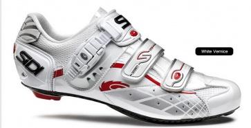 Sidi Lazer Road Bike Cycling Shoes Red vernice