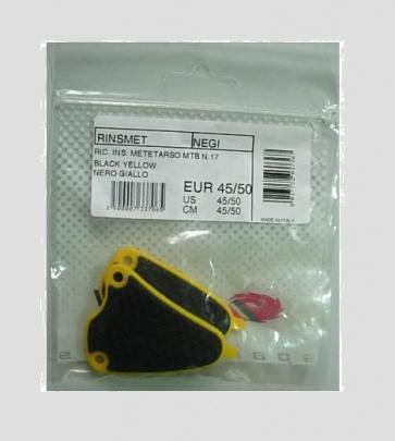 Sidi Ric INS. Metetarso MTB N.17 Black Yellow 41~44