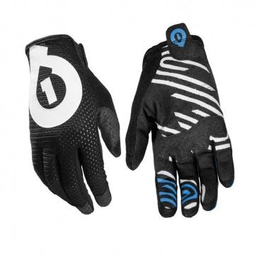 Sixsixone Raji Cycling Gloves Long Finger Black