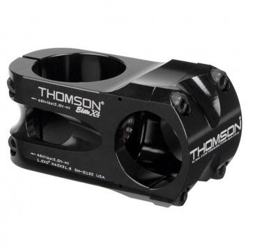 """Thomson X4 1.5"""" 0D 31.8 x 45mm Stem Black"""