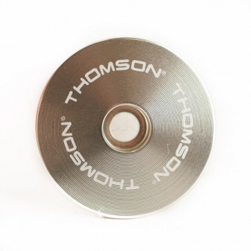 "THOMSON TOP CAP SILVER 1.5"""