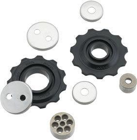 SRAM Derailleur pulley set, '04-09 X.7*, '06-10 X.5/SX5