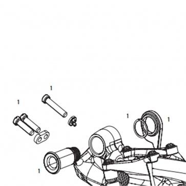 Sram X01 DH 10SP B-Bolt Kit 11.7518.033.001