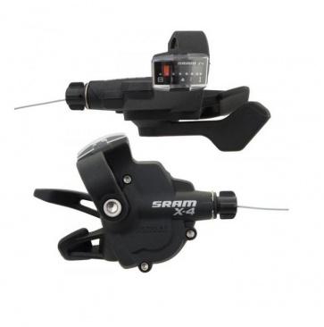 Sram X4 Trigger Lever Shifter Set 3x8sp