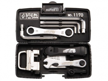 SuperB Portable Bicycle Tool Set TB-1170 24in1 multi
