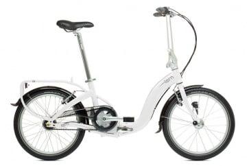 Tern Swoop D7i White Gray Inner Gear 7 Folding Bike