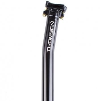 Thomson Masterpiece 27.2x330mm Seatpost 16mm Setback Black