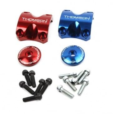 Thomson X4 stem clamp cap kit 2 colors