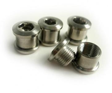 Tiparts Titanium Chainring bolt nut