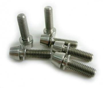 Tiparts Titanium M5x16mm Taper Head Stem Bolts