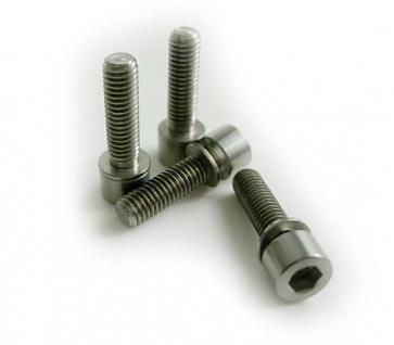 Tiparts Titanium M5x18mm bolt spacer