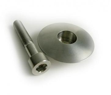 Tiparts Titanium Topcap 1 1-8inch bolt headset