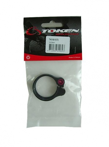 Token TK161Ti SL seat clamp black red 34.9mm
