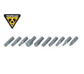Topeak Bit Set For TT2531 D-torq Wrench DX
