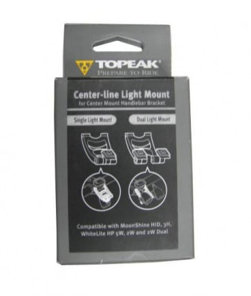 Topeak Center Line Light Mount TRK-SP01