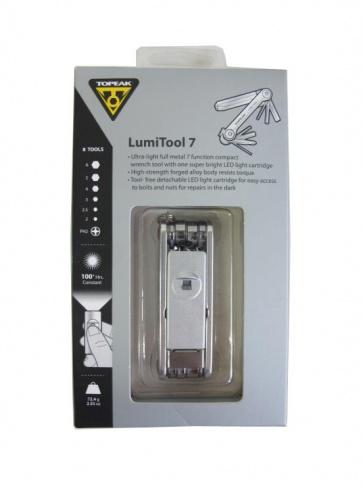 Topeak LumiTool7 LED Light Tool Kit 7functions