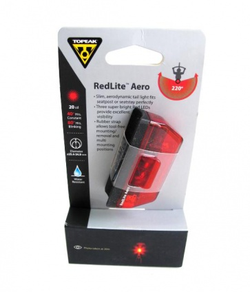 Topeak RedLite Aero Rear Safety Lamp