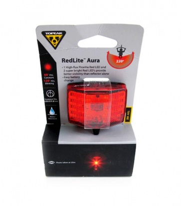 Topeak RedLite Aura Rear Safety Lamp