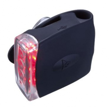 Topeak RedLite DX USB Black Bicycle Rear LED Lamp
