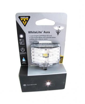 Topeak Whitelite Aura Front LED Light
