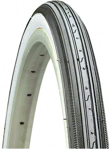 Kenda K34 Whitewall(630) Tire 27X 1-1/4