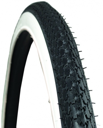 Kenda K75 Schwinn S7 Whitewall(571) Tire 26X1-3/4