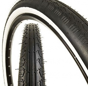 26x2.125 KENDA K130 CRUISER WHITEWALL WIRE