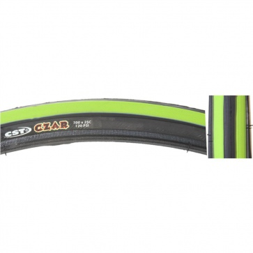 700x25 CST CZAR DC GREEN/BLACK WIRE