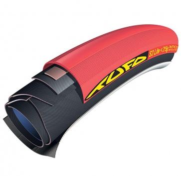 700x21 TUFO S3 LITE <215 TUBULAR RED